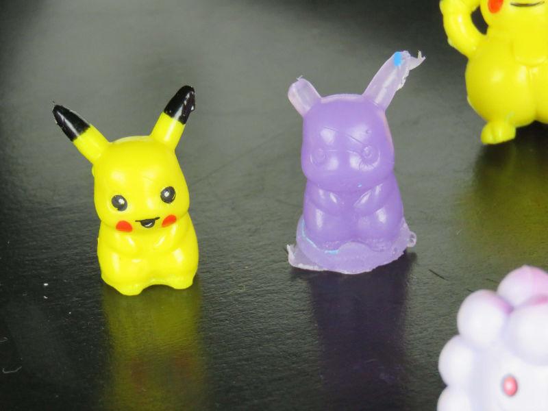 Jabones Pokemon: figuras de jabón
