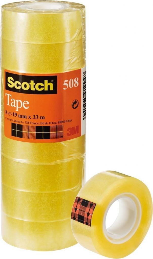 cinta adhesiva transparente scotch