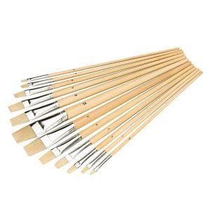 pinceles-planos-de-cerdas-naturales-silverline