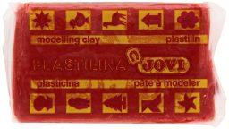 plastilina jovi de color rojo