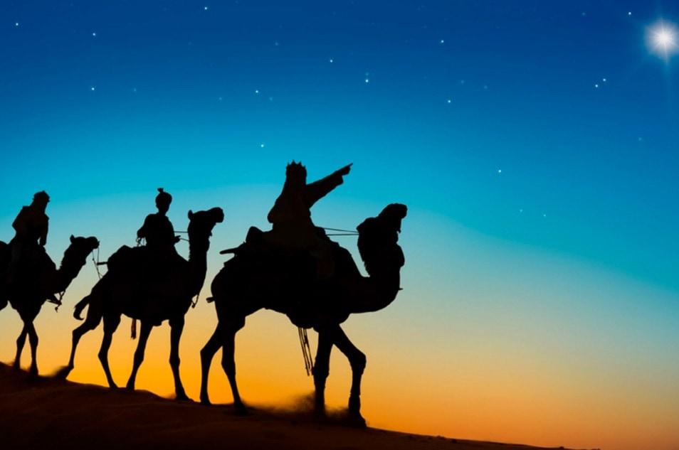 belen y adornos de navidad