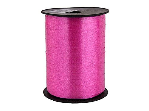 cinta para rizar de color rosa para hacer adornos de navidad