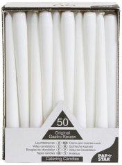 paquete de 50 velas de color blanco