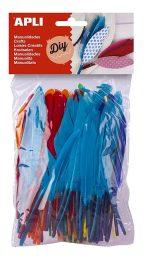 plumas de colores para manualidades de apli