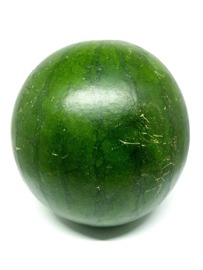 sandia negra fruta