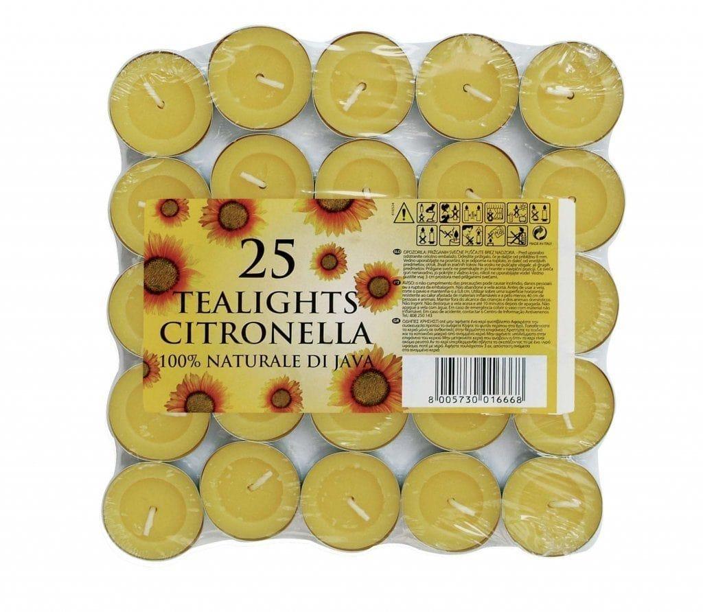 velas de te con citronella