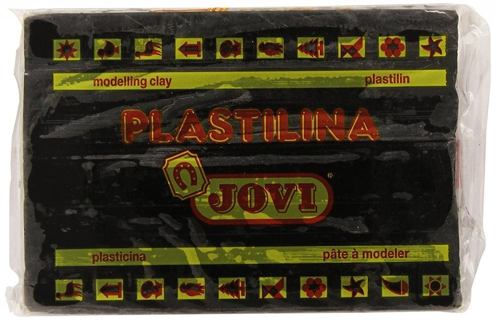 plastilina negra jovi