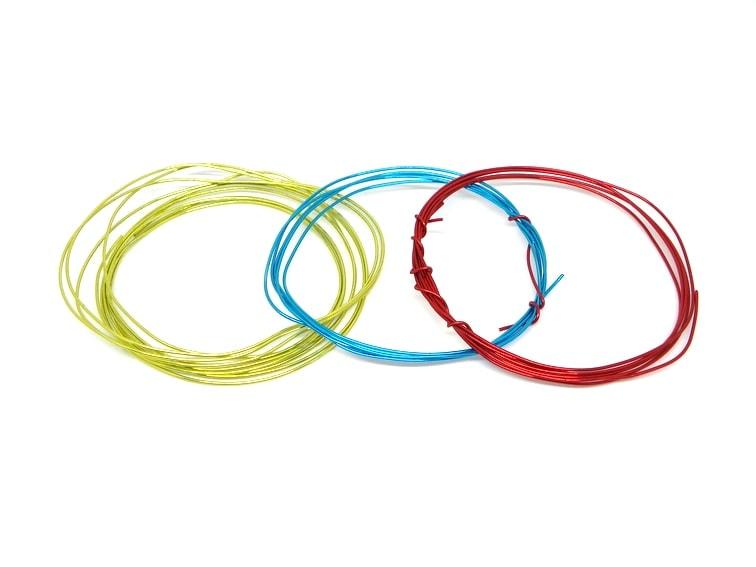 alambre de colores