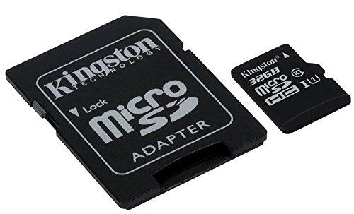 tarjeta micro sd kingston de 32gb