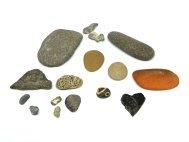 piedras de distintos tamaños