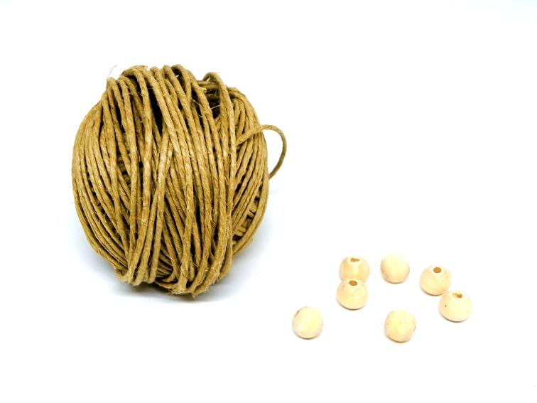 cuerda y cuentas