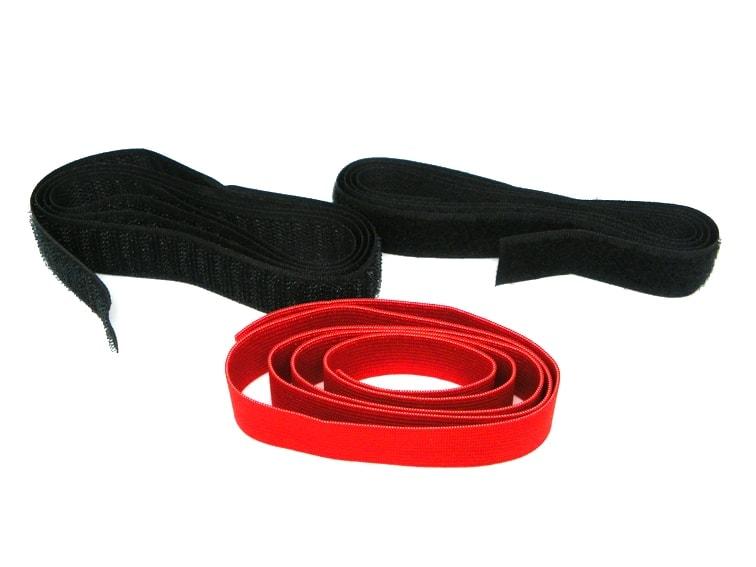 cinta elastica y velcro
