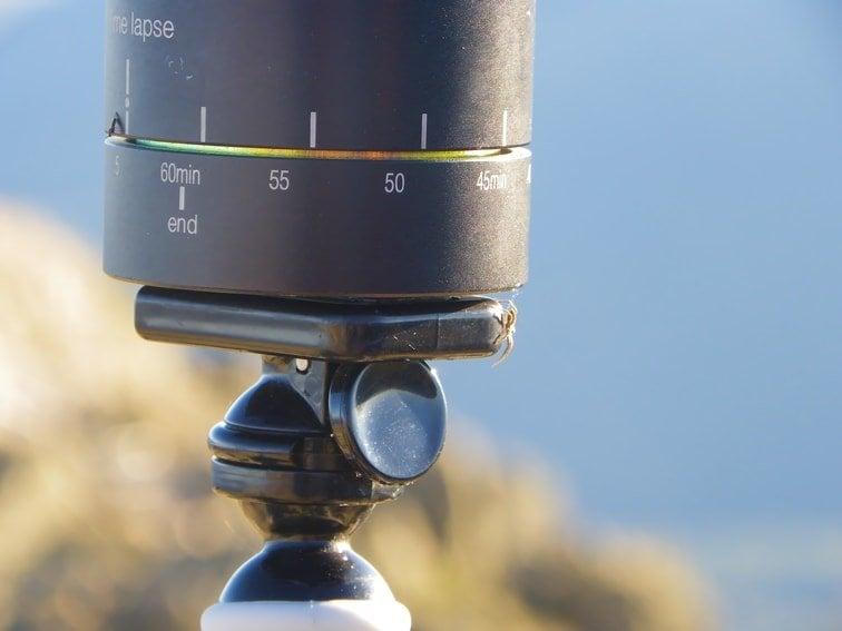 cabezal panoramico para hacer time lapse 360