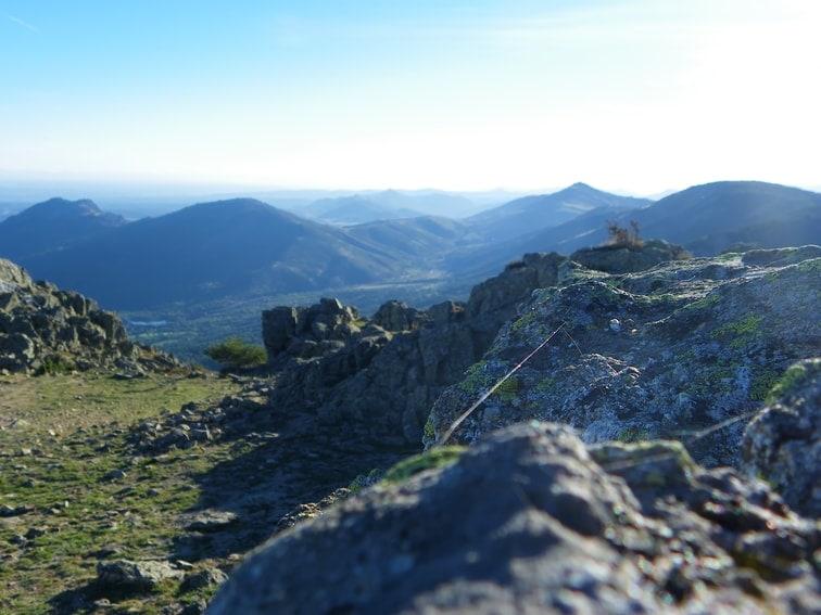 vistas desde el monte abantos