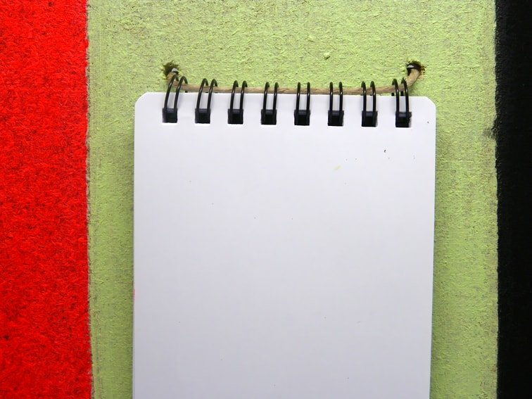 superficie del tablon para anotar