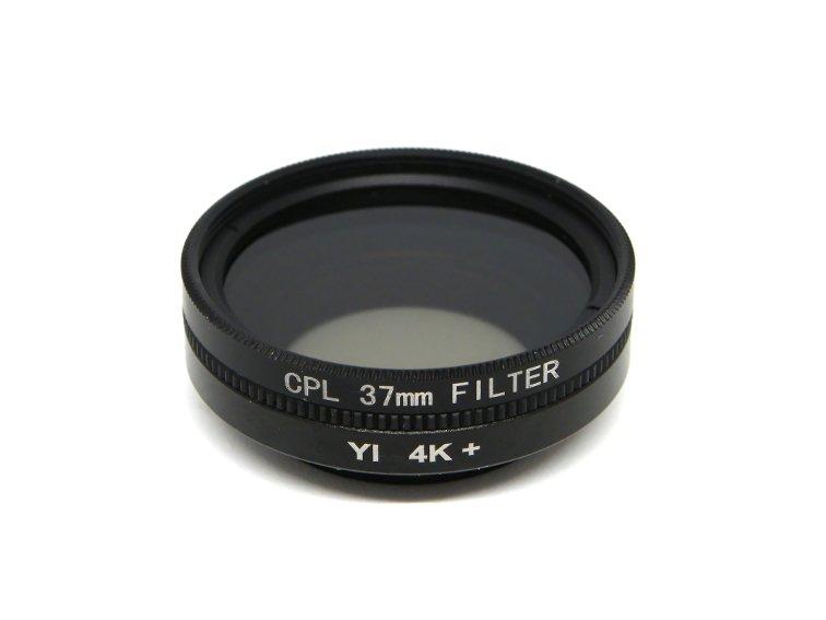 filtro polarizador de 37 mm para camara deportiva