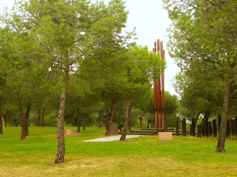 pinar en el parque juan carlos I