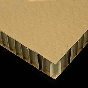 plancha de cartón nido de abeja