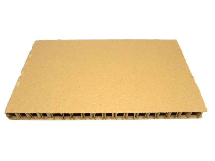 plancha de carton nido de abeja para hacer soporte para el monitor