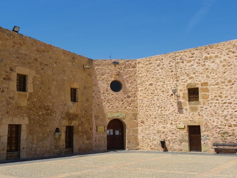 museo del mar en el castillo fortaleza de santa pola
