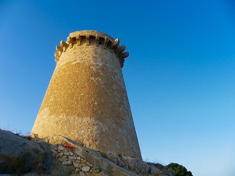 torre vigia de escaletes santa pola
