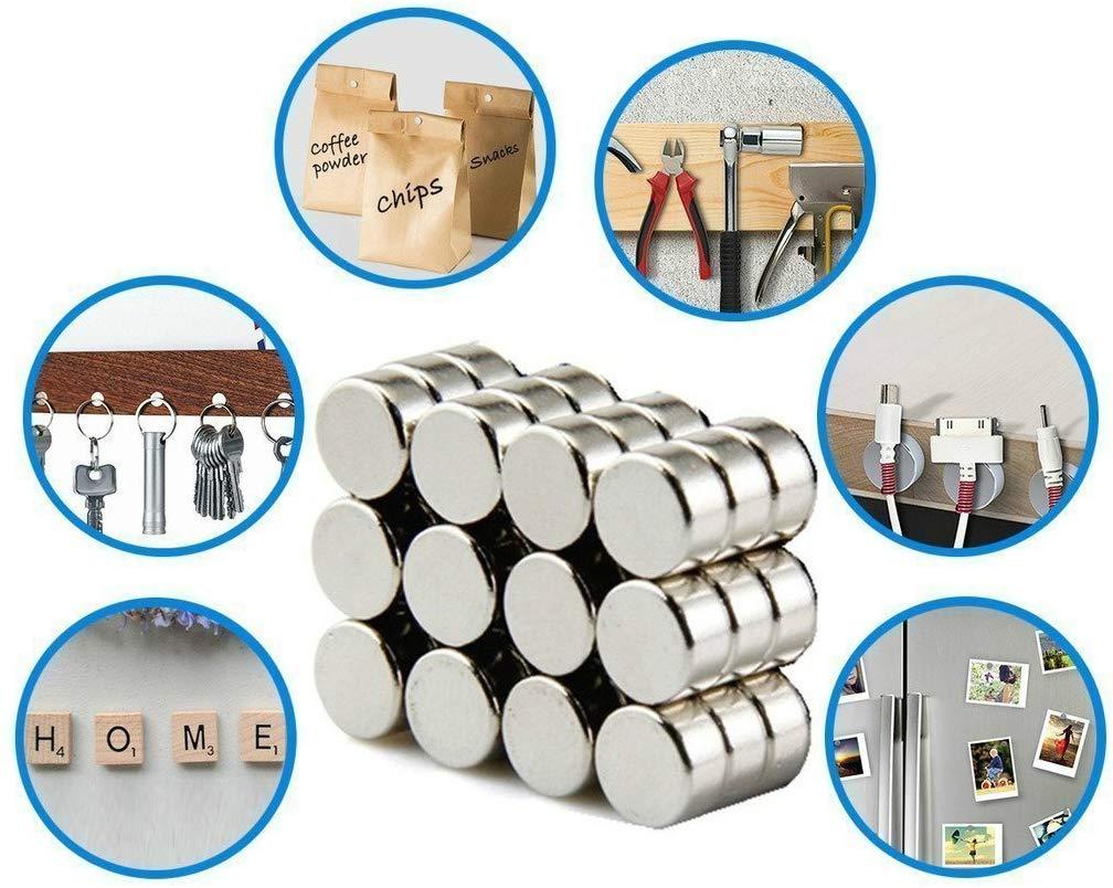 Imanes de nevera de cilindro de neodimio 30 piezas