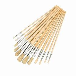 Pinceles redondos 12 piezas de silverline