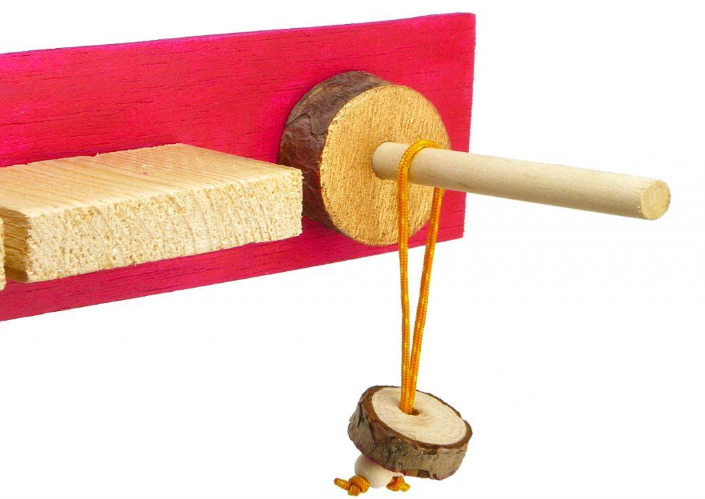 segunda seccion del portallaves de madera y llavero de madera