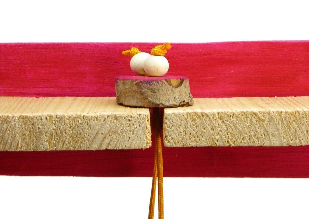 seccion del portallves de madera y llavero de madera