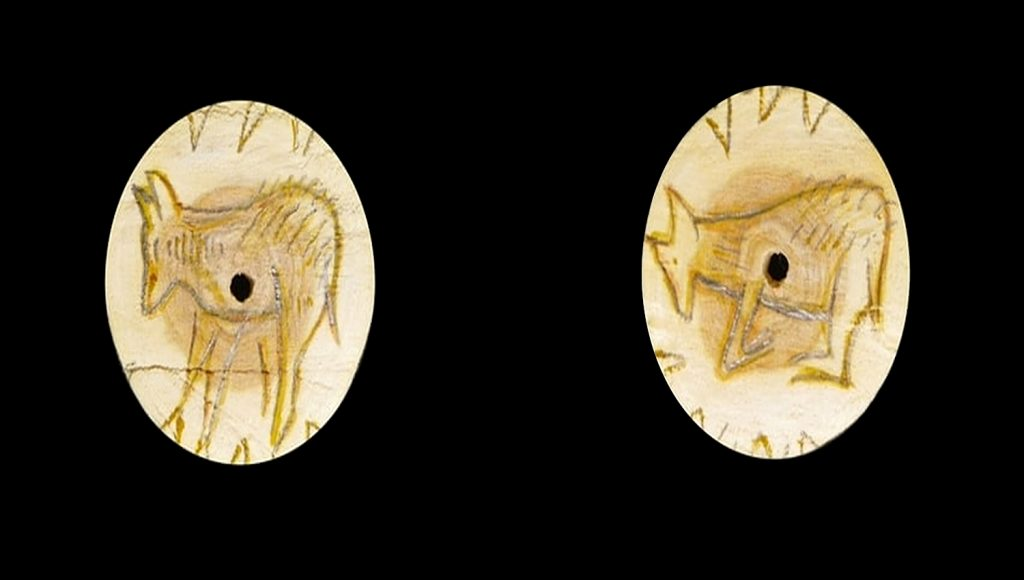 recreación del rodete de laugerie basse en madera