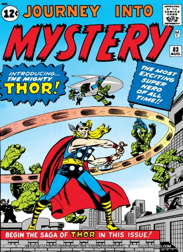 journey into mystery 83 thor