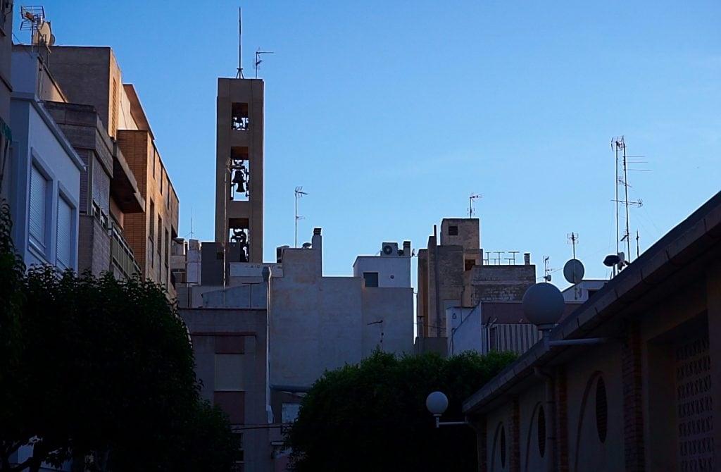 campanario y mercado de abastos de santa pola