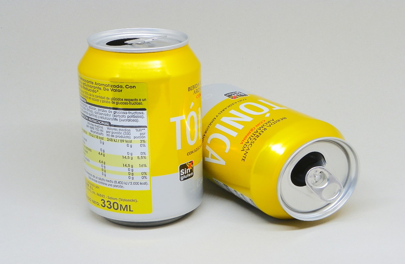 latas de aluminio de refresco para hacer adornos luminosos