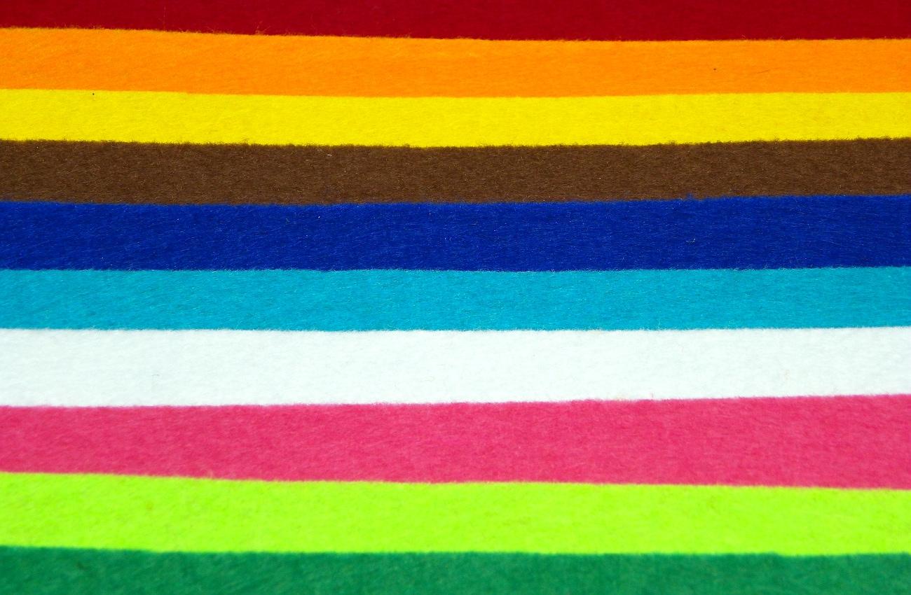 laminas de fieltro paleta de colores para hacer flores