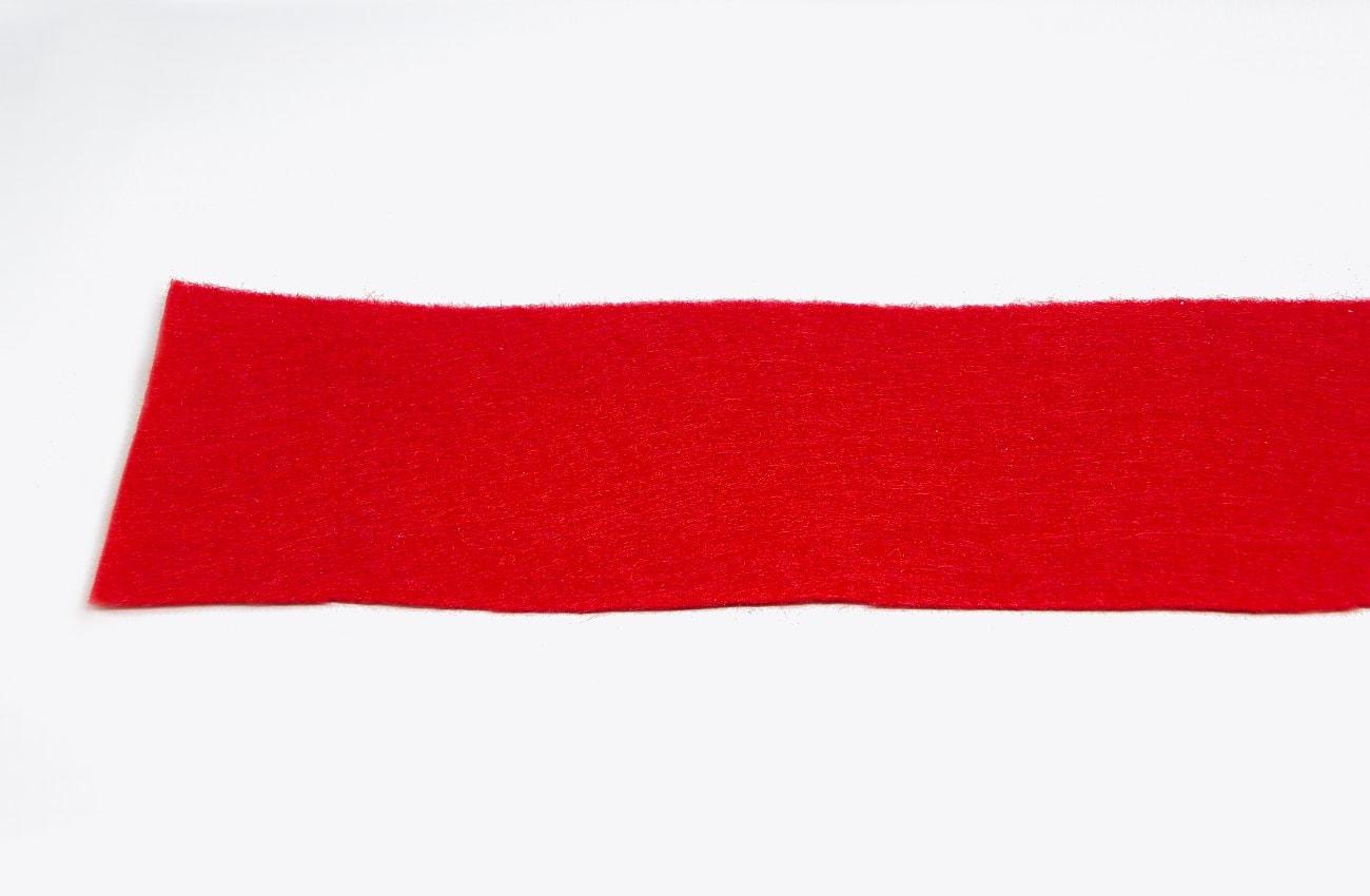 tira de filetro rojo para hacer flor1