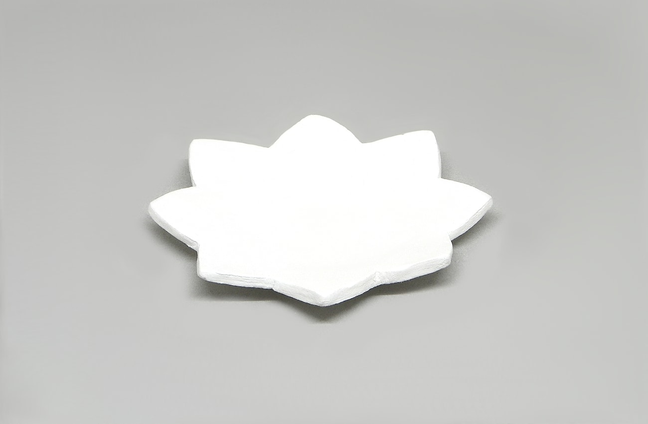 estrella pequeña hecha con pasta para modelar