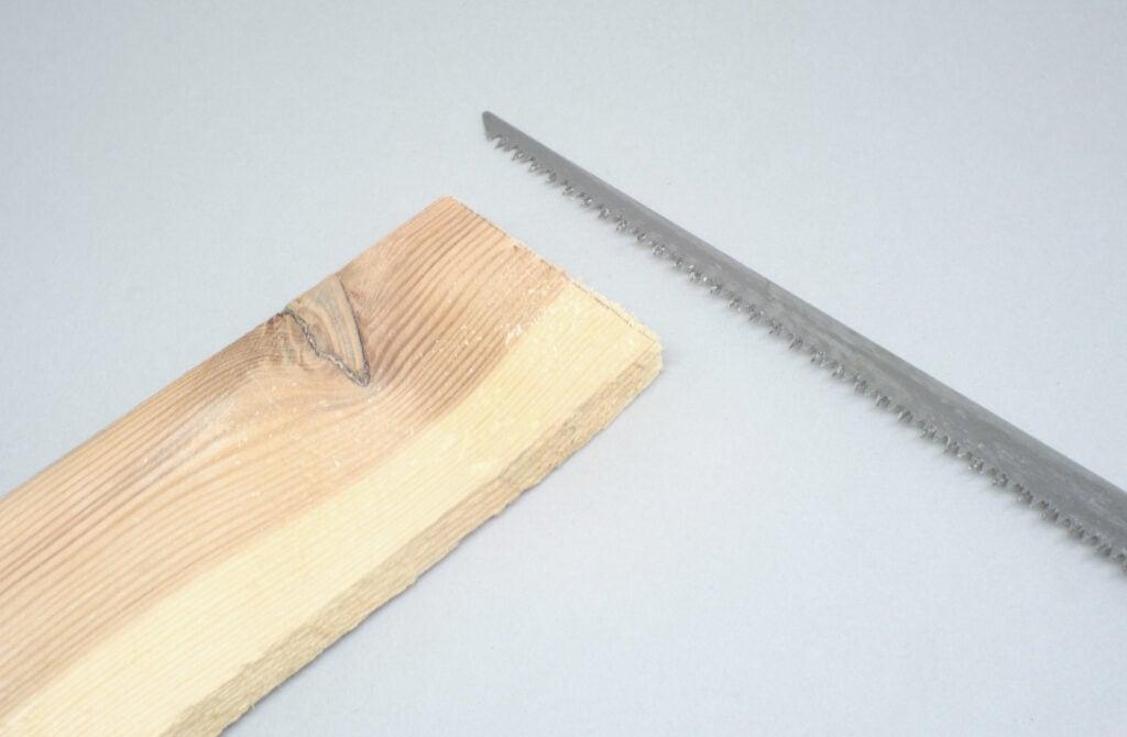 liston de madera de pale serrado