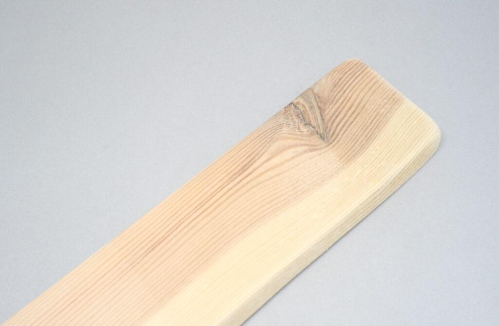 liston de madera reciclado de un pale
