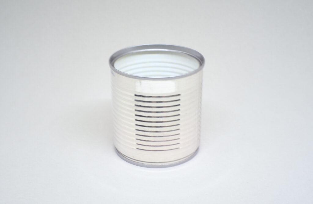 lata metalica de consevas