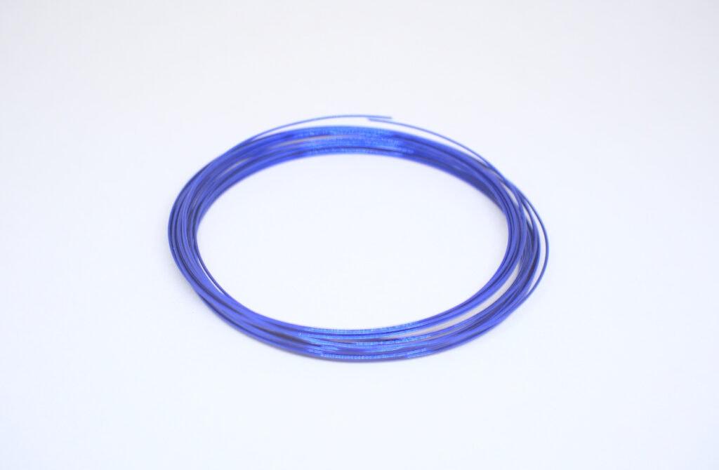 alambre para manualidades de color azul