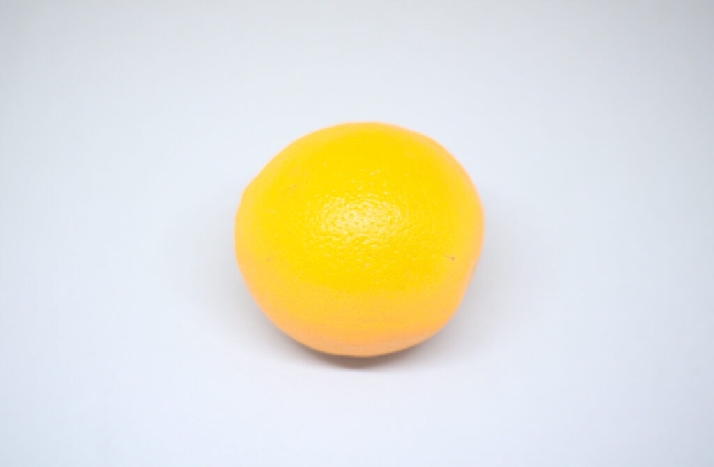 naranja madura fruta